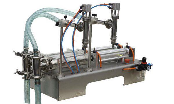 Полуавтоматска машина за полнење мед со голема точност на полнење