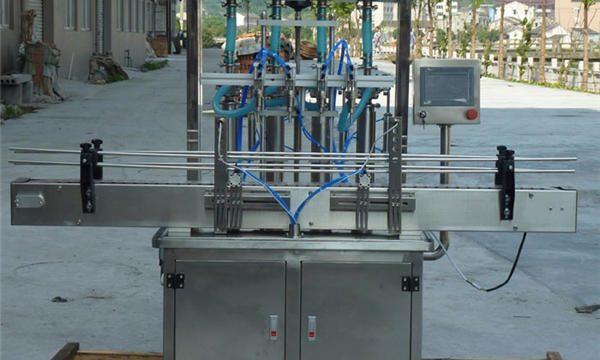 Автоматска машина за полнење со паста од кикирики