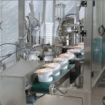 Автоматска машина за запечатување кутија за полнење сладолед