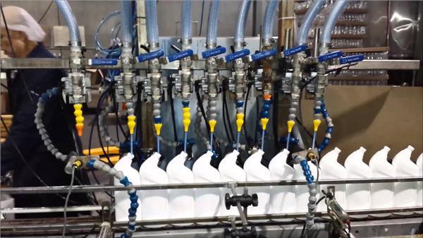 Комплетна автоматска чистачка за тоалети Белешка Линеарна машина за полнење