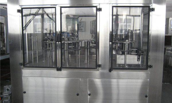 Машина за пневматско пополнување Мала течност за полнење, цена за полу-автоматско полнење на машината