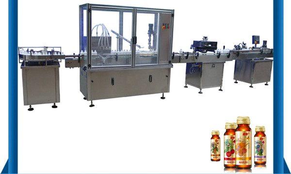 Добавувач на Кина Автоматска машина за полнење течни садови со мед