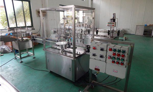 Автоматска машина за полнење со течности со висок вискозитет