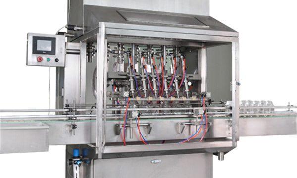 Сина Екато сопствена целосна производна линија за полнење на маслото за моторно моторно возило, машина за полнење нафта