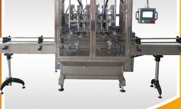 Автоматска прелевање машина за течности за полнење на шишиња за гравитација