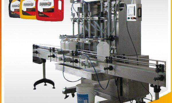 500ml-2L автоматска машина за полнење на течен детергент / машина за полнење течна машина за перење