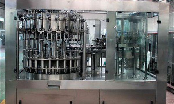 Автоматска машина за полнење со течност од не'рѓосувачки челик за масло / прочистена вода