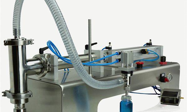 Пневматска контрола машина за полнење со двојни глави
