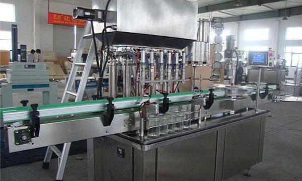 Целосно автоматска машина за полнење кечап од домати
