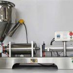 Полу-автоматска полу-автоматска машина за полнење со мешан овошен џем со CE GMP