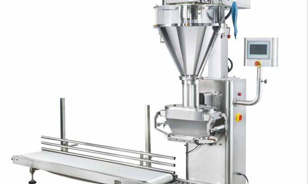 Полу-автоматска машина за полнење прав во прав