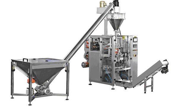 Автоматска машина за полнење прав во прав за видот на шишенцето