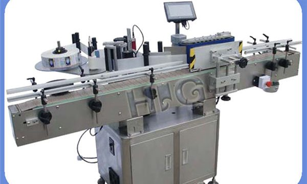 Автоматски производител на машина за обележување на шише NPACK со печатач