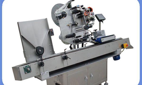 Автоматска машина за обележување на шишиња за шишиња за круг и квадрат