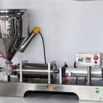 Рачна машина за полнење сос за лименки