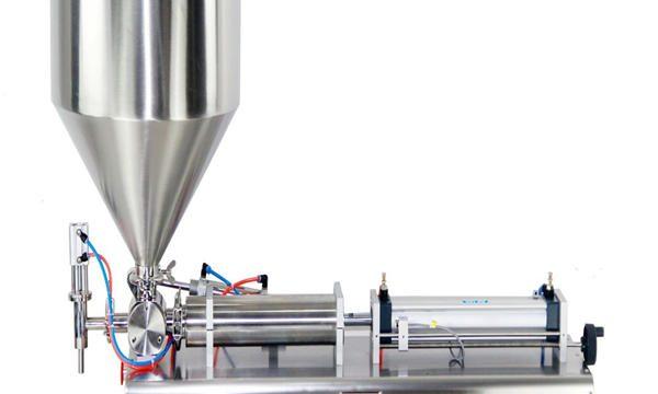 Полуавтоматска машина за полнење крем за пиштоли