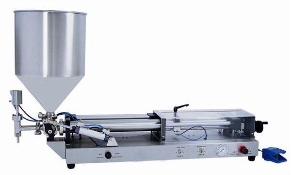 Полу-автоматска машина за полнење паста за 3mL-5L